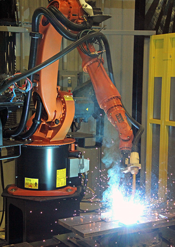 ESAB Robotic Torches Header