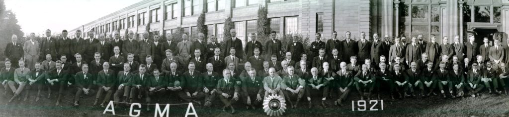 1921 Rochester Meeting photo at Gleason Works