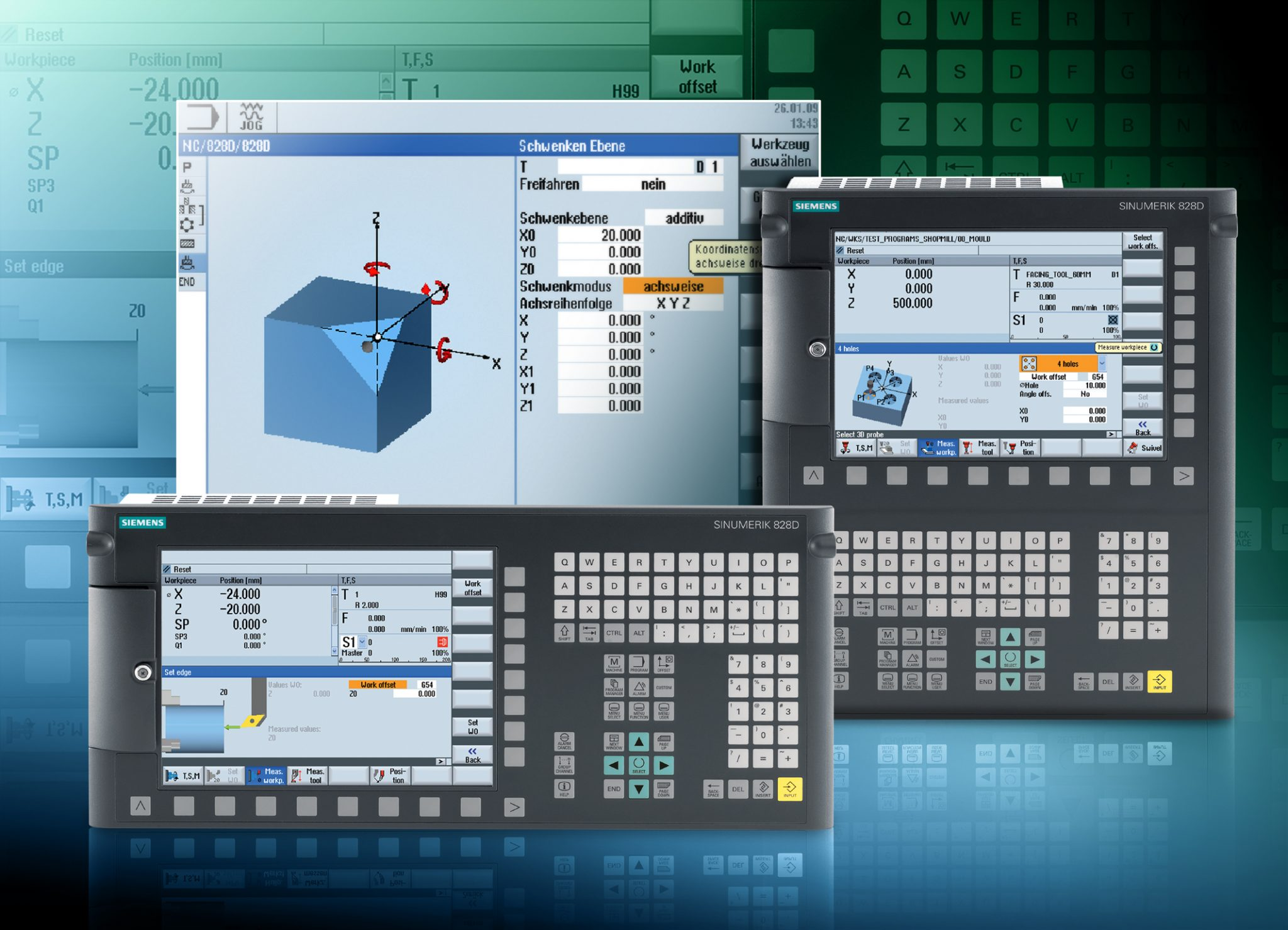 Siemens Introduces Sinumerik 828D | Industrial Machinery Digest