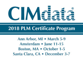CIMData, PLM Certificate Program, Schedule
