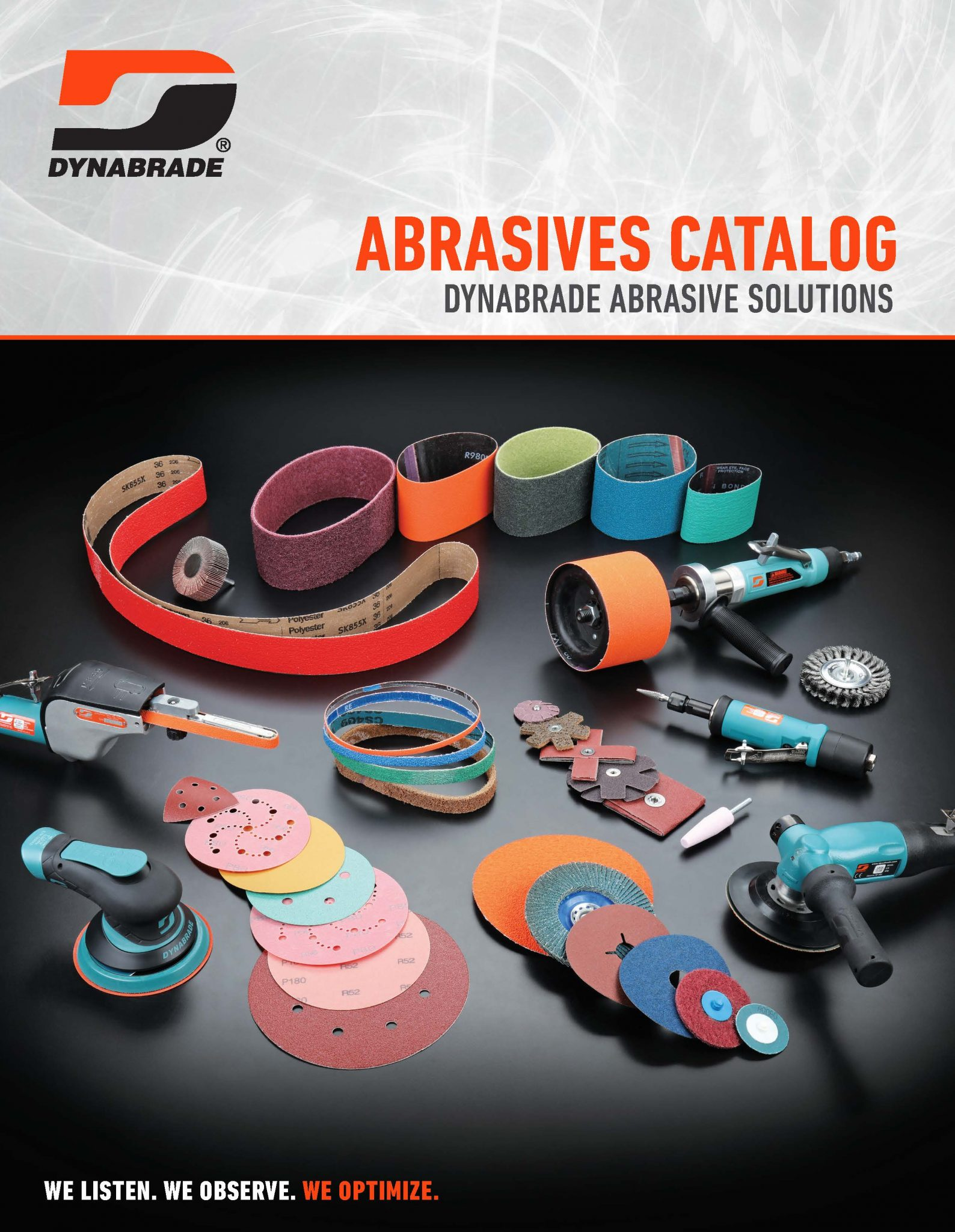 Dynabrade Introduces New Abrasive Catalog Featuring