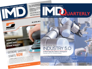 Industrial Machinery Digest print and digital issue examples