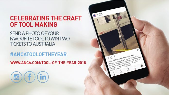 anca, tool of the year, imts 2018
