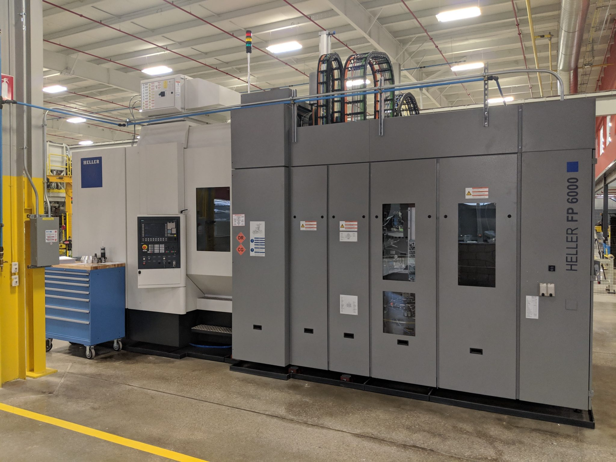 Lift Announces Installation Of Cutting Edge Machining Tool Heller 5