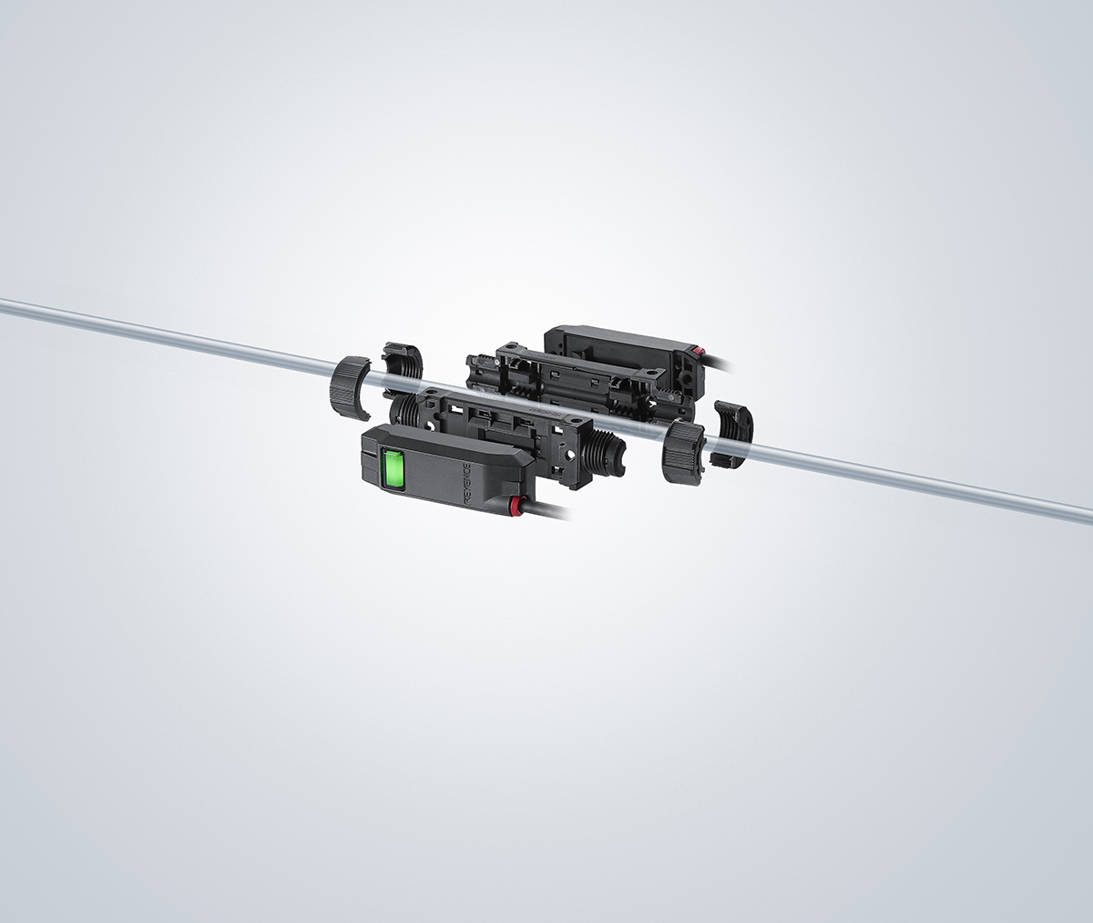 KEYENCE Announces New Clamp-On Micro Flow Sensor