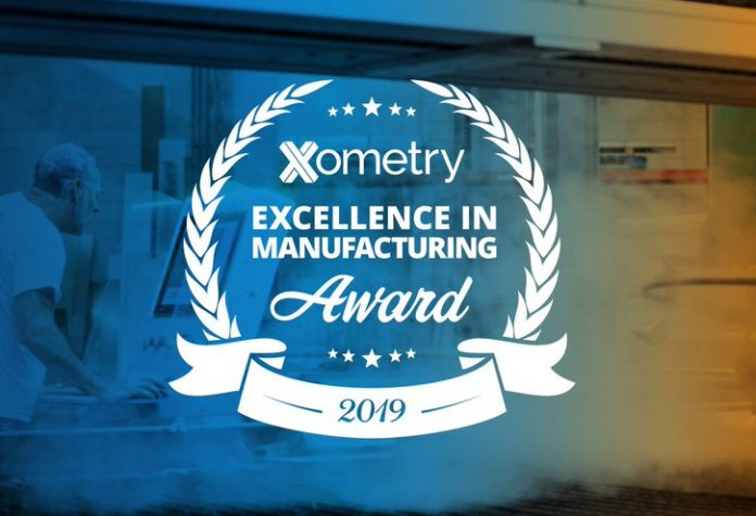 Xometry Excellence in Manufacturing