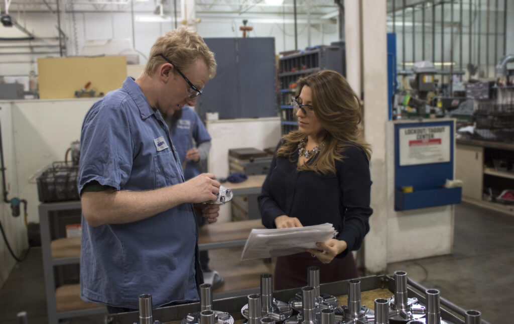 HM Manufacturing Nicole Wolter