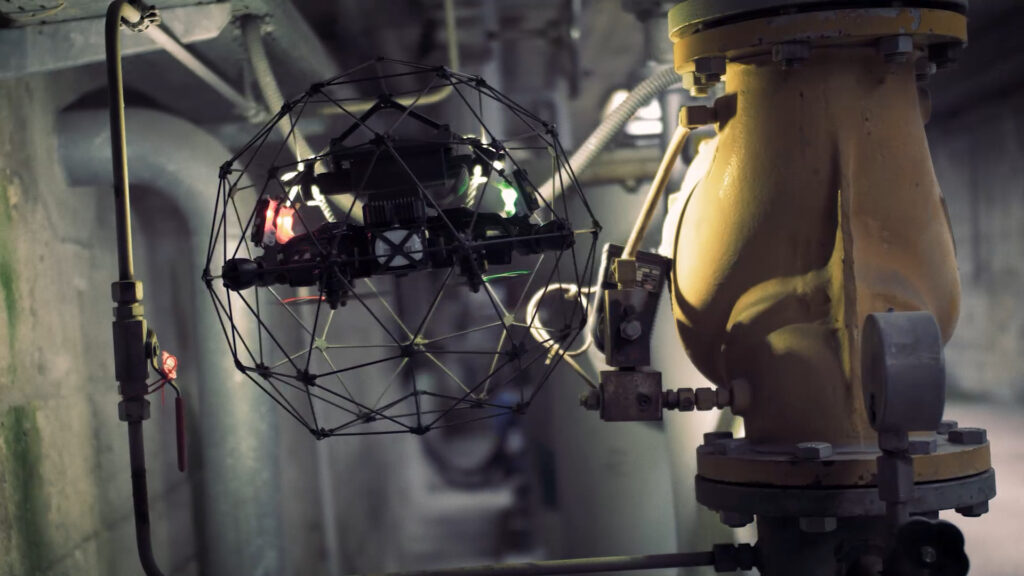 nexxis, drone, industrial inspection